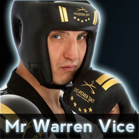 Mr Warren Vice - Sefton Tae Kwon-Do Instructor